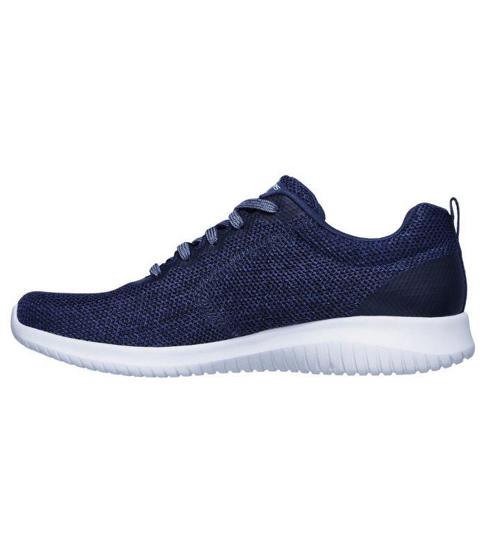 Compra online Zapatillas Skechers Ultra Flex Mujer Navy en oferta al mejor precio
