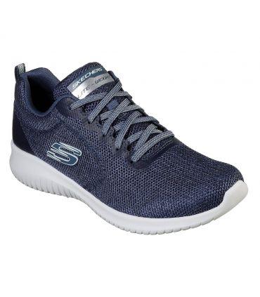 Zapatillas Skechers Ultra Flex Mujer Navy