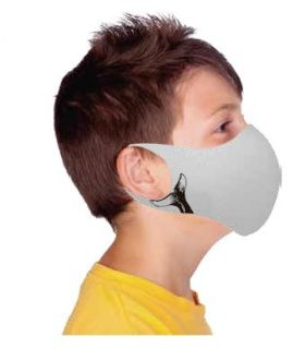 Mascarilla facial Ternua AirGill EU Kids Light Grey
