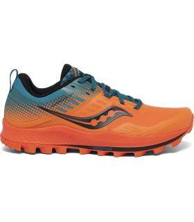 Zapatillas Saucony Peregrine 10 ST Hombre Orange Blue. Oferta y Comprar online