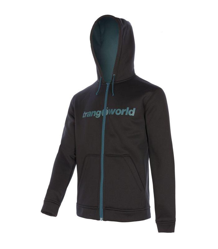 Compra online Sudadera Trangoworld Ripon Hombre Black Deepteal en oferta al mejor precio