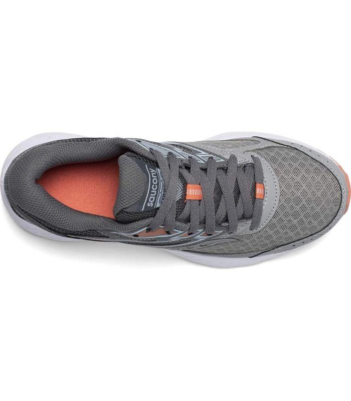 Zapatillas Saucony Cohesion 13 Mujer Gris Claro