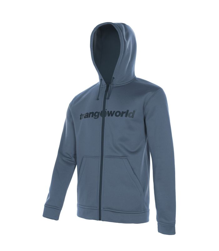 Sudadera Trangoworld Ripon Hombre Indian Teal Dress Blues