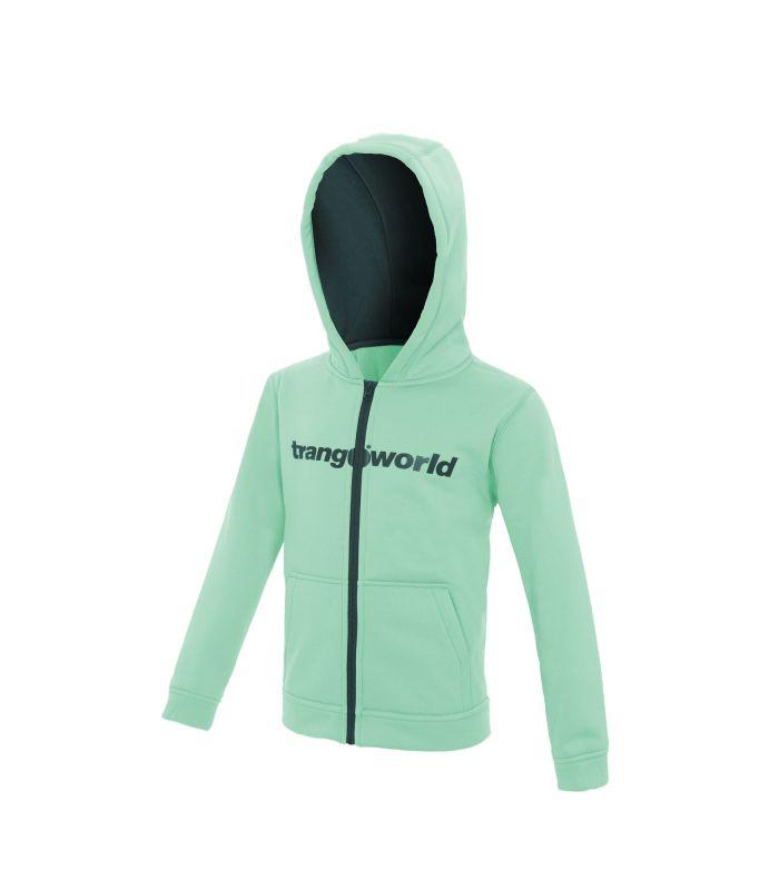 Compra online Sudadera Trangoworld Oby Niños Brook Green Deppe Teal en oferta al mejor precio