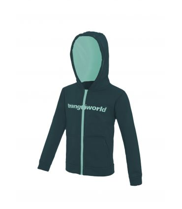 Sudadera Trangoworld Oby Niños Deep Teal Brook Green