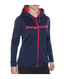 Sudadera Trangoworld Liena Mujer Dress Blues Cayenne