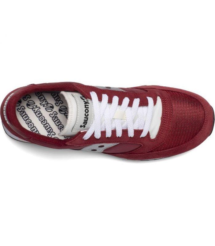 Compra online Zapatillas Saucony Jazz Original Vintage Red White Silver en oferta al mejor precio