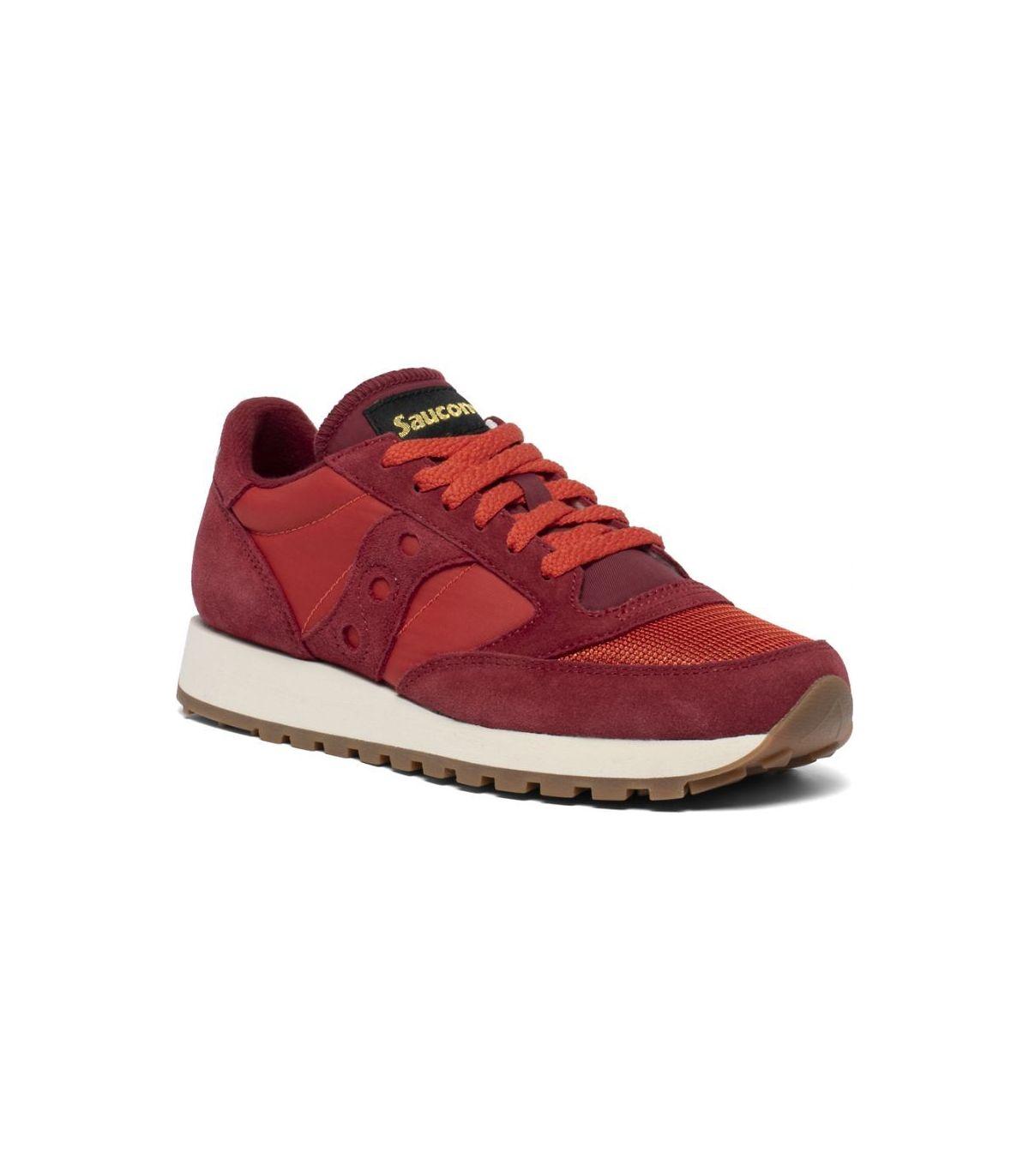 Saucony Jazz Original Vintage Red//Blue Zapatillas de Atletismo para Hombre