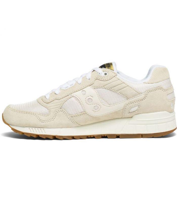 Compra online Zapatillas Saucony Shadow 5000 Tan White en oferta al mejor precio
