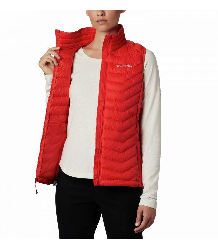 Compra online Chaleco Columbia Powder Pass Vest Mujer Bold Orange en oferta al mejor precio