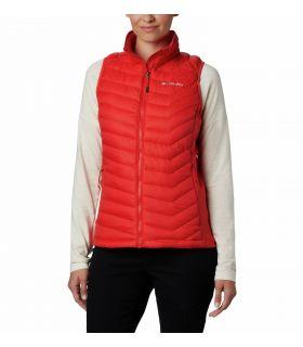 Chaleco Columbia Powder Pass Vest Mujer Bold Orange. Oferta y Comprar online