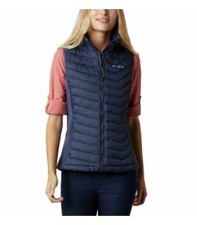 Chaleco Columbia Powder Pass Vest Mujer Nocturnal. Oferta y Comprar online