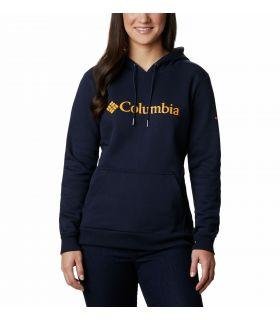 Sudadera Columbia Logo Hoodie Mujer Dark Nocturne. Oferta y Comprar online