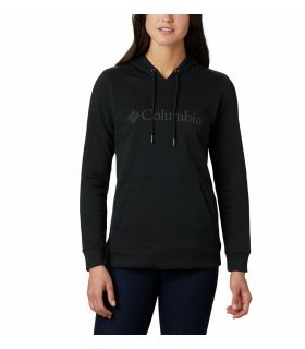 Sudadera Columbia Logo Hoodie Mujer Black. Oferta y Comprar online