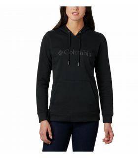 Sudadera Columbia Logo Hoodie Mujer Black