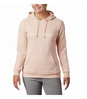 Sudadera Columbia Logo Hoodie Mujer Peach Clou. Oferta y Comprar online