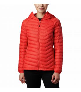 Chaqueta Columbia Powder Pass™ Mujer Bold Orange. Oferta y Comprar online