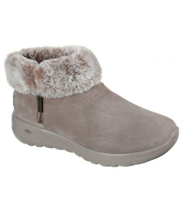 Botas Skechers On The Go Joy SAVVY Mujer Taupe Oscuro