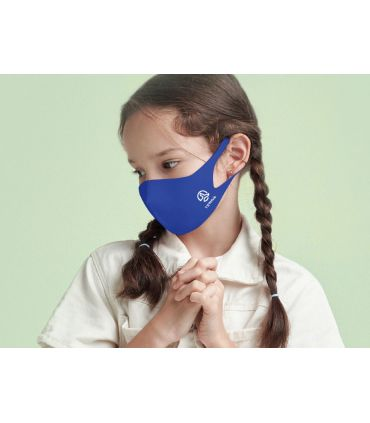 Mascarilla facial Ternua AirGill EU Kids Blue