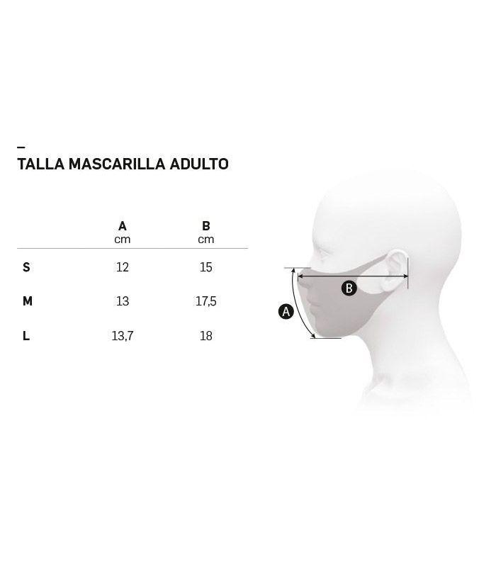 Mascarilla facial Ternua AirGill