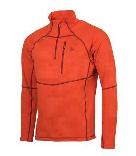 Camiseta Ternua Momhil Hombre Orange Red. Oferta y Comprar online