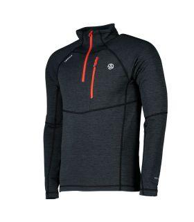 Camiseta Ternua Momhil Hombre Whales Grey Orange Red. Oferta y Comprar online