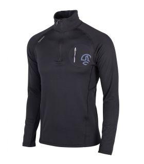 Camiseta Ternua Lezat 1/2 Zip Hombre Black. Oferta y Comprar online