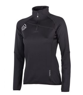 Camiseta Ternua Lezat 1/2 Zip Mujer Black