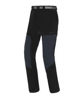 Pantalones Trangoworld Mourelle Hombre Negro Gris