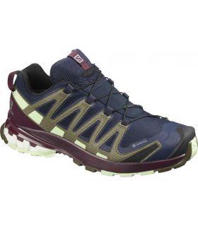 Zapatillas Salomon Xa Pro 3D V8 GTX Mujer Navy Blue. Oferta y Comprar online