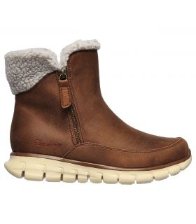 Botas Skechers Synergy Collab Mujer Marrón