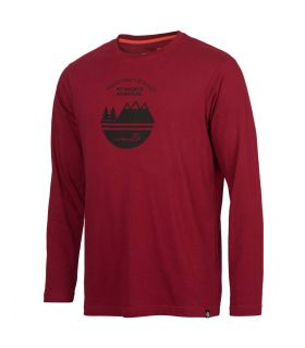 Camiseta Ternua Skorna Hombre Rumba Red