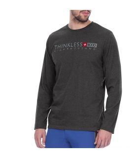 Camiseta +8000 Ampato 20I 105 Hombre Negro Vigore. Oferta y Comprar online