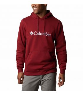 Sudadera Columbia CSC Basic Logo II Hoodie Hombre Red Jasper. Oferta y Comprar online