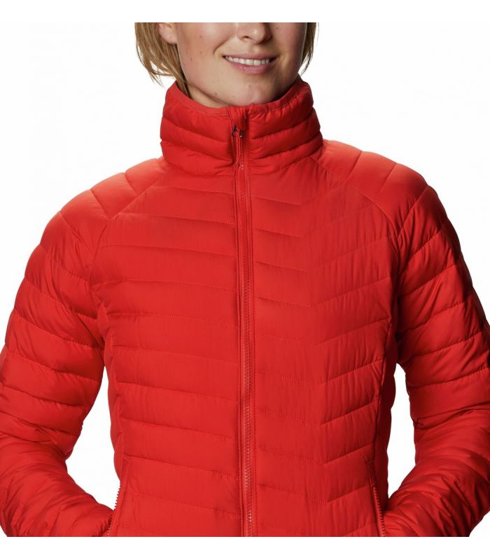Compra online Chaqueta Columbia Powder Lite Mujer Bold Orange en oferta al mejor precio
