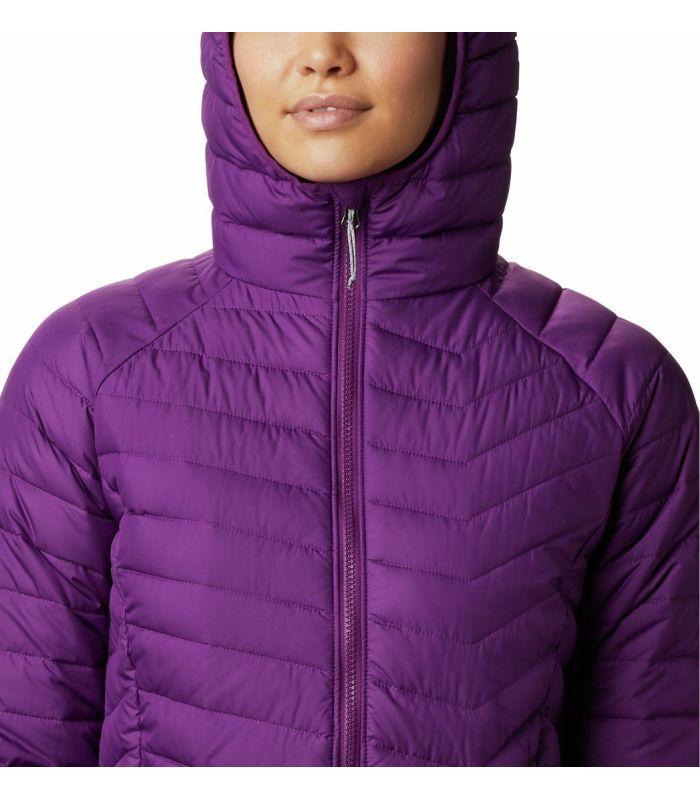 Compra online Chaqueta Columbia Powder Lite Hooded Mujer Plum en oferta al mejor precio