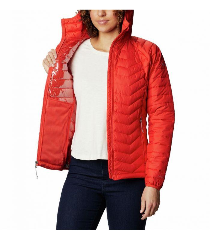 Compra online Chaqueta Columbia Powder Lite Hooded Mujer Bold Orange en oferta al mejor precio