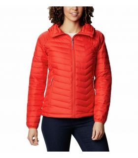 Chaqueta Columbia Powder Lite Hooded Mujer Bold Orange. Oferta y Comprar online
