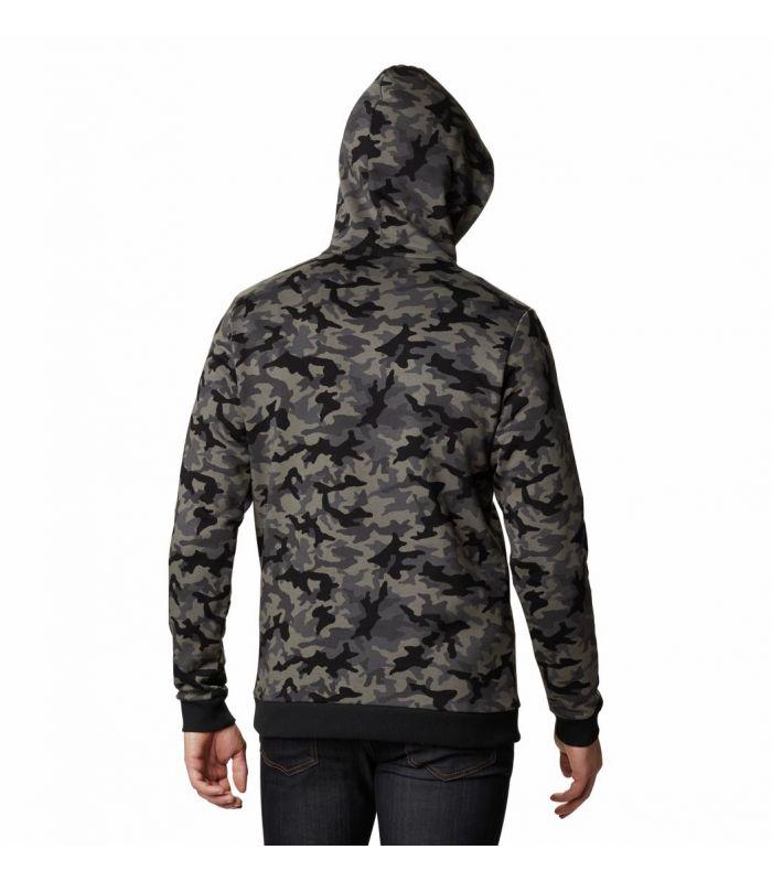 Compra online Sudadera Columbia Logo Printed Hombre Black Camo en oferta al mejor precio
