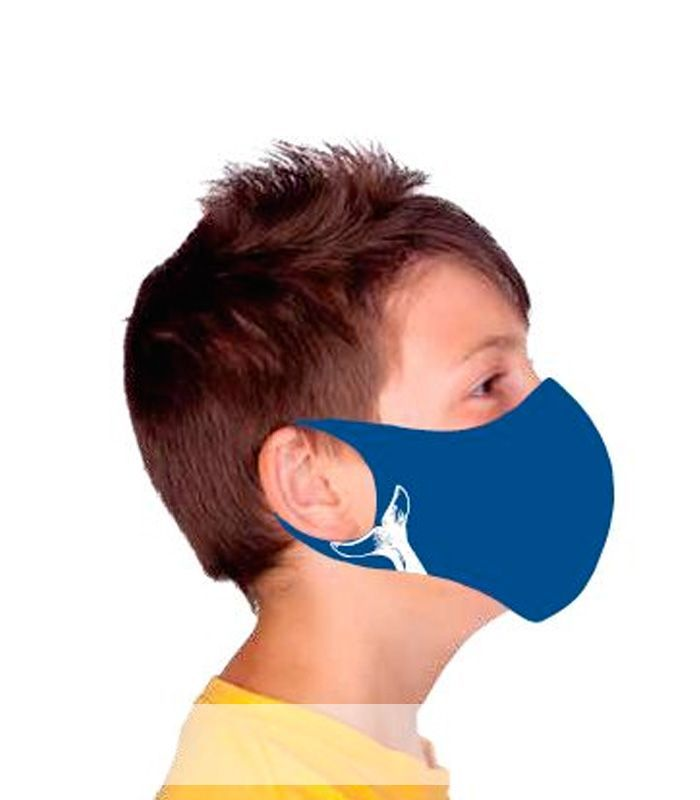 Compra online Mascarilla facial Ternua AirGill EU Kids Blue en oferta al mejor precio