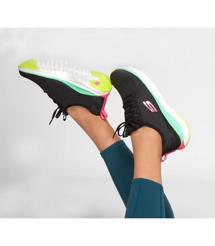 Compra online Zapatillas Skechers Ultra Groove Mujer Negro en oferta al mejor precio