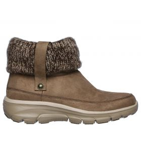 Botas Skechers Easy Going Heighten Mujer Taupe. Oferta y Comprar online