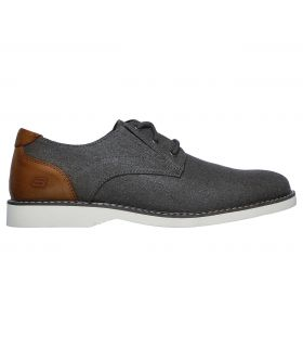 Zapato Skechers Parton Wilcon Hombre Grey