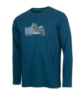 Camiseta Ternua Sekkum Hombre Dark Lagoon. Oferta y Comprar online
