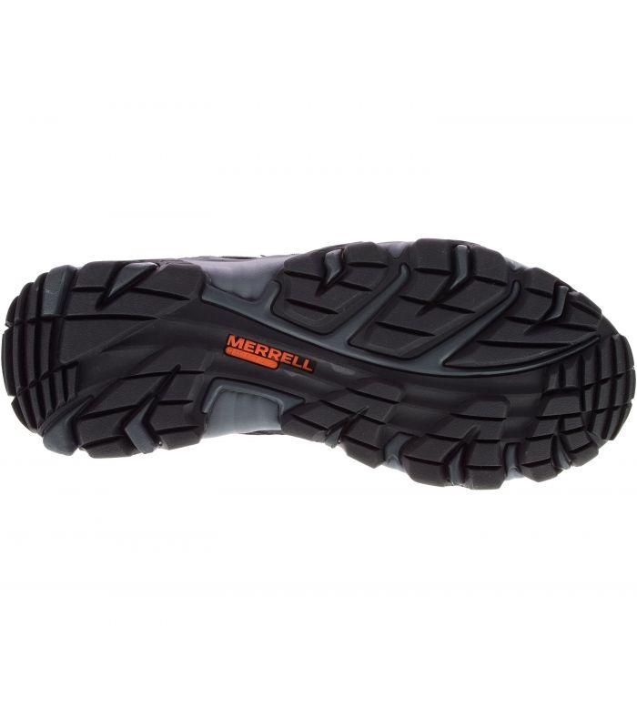 Compra online Botas Merrell Dashen Mid Waterproof Hombre Negro en oferta al mejor precio
