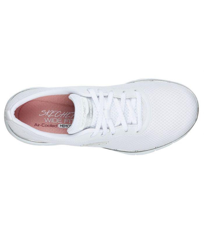Compra online Zapatillas Skechers Flex Appeal 3.0 First Insight Mujer White en oferta al mejor precio