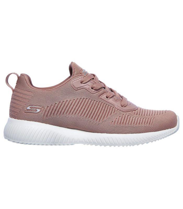 Compra online Zapatillas Skechers Bobs Squad Tough Talk Mujer Blush en oferta al mejor precio