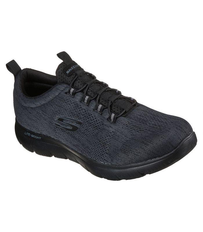 Compra online Zapatillas Skechers Summits Louvin Hombre Negro en oferta al mejor precio