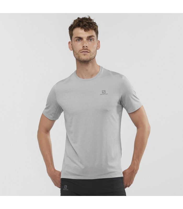Compra online Camiseta Salomon XA Tee Hombre Alloy en oferta al mejor precio