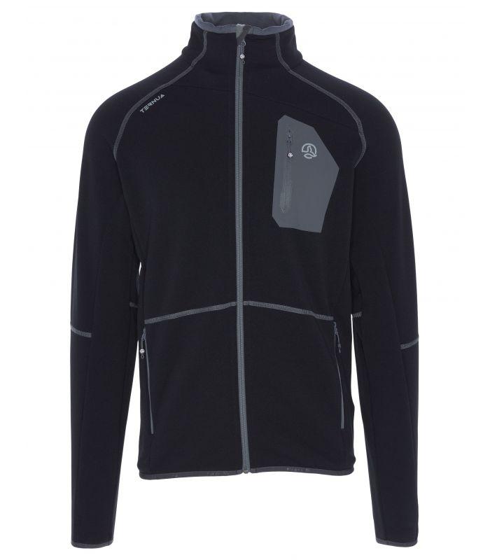 Compra online Chaqueta Ternua Skrul JKT Hombre Black Whales Grey en oferta al mejor precio